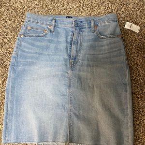 Gap Denim skirt size 30